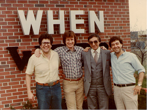 62 WHEN Staff Meteorologist Joe Zona and some of the guys at WHEN Radio