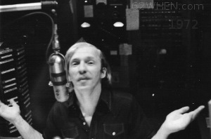 WHEN Syracuse Afternoon Drive Radio Personality Jack Mindy - 1972