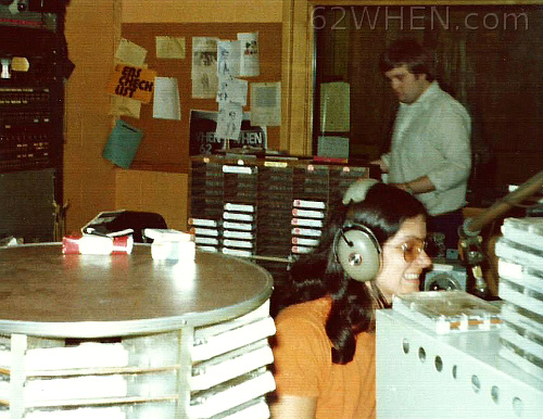 Early 70s Radio In Syracuse - Leigh Taylor and Pete McKay at 62 WHEN - 980 James Street Studios