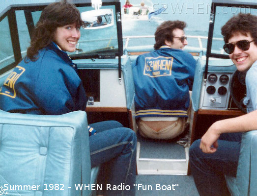 WHEN Radio Fun Boat 1982 - Syracuse